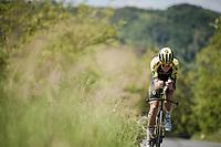 race preparations: Jack Bauer (NZL/Mitchelton-Scott) training ahead of the 102nd Giro d'Italia 2019<br /> <br /> ©kramon