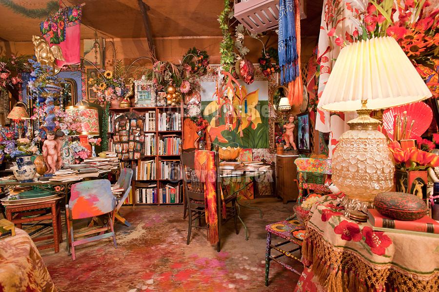 Art studio of John Johannsen, Jackson, Calif.