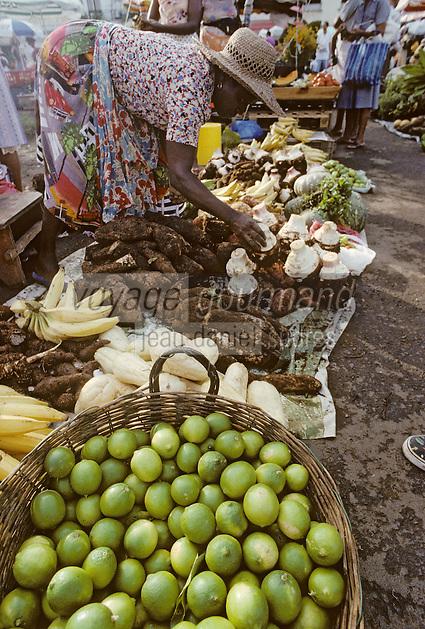 France/DOM/Martinique/Fort de France: Le marché [Non destiné à un usage publicitaire - Not intended for an advertising use]