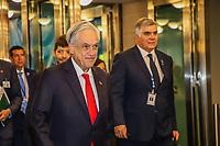 NOVA YORK, EUA, 24.09.2019 - ONU-EUA - Presidente Chile, Sebastián Piñera durante da 74ª Assembleia Geral da Organização das Nações Unidas (ONU) em Nova York nos Estados Unidos nesta terça-feira, 24. (Foto: Vanessa Carvalho/Brazil Photo Press/Folhapress)