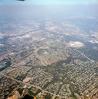 1998 September 05..Aerial..High altitude of census tracts around Elizabeth River in Portsmouth & Norfolk..Gene Woolridge.NEG# 11678 - 42.NRHA#..