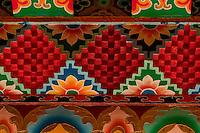 Art in Buddhist monastery architecture, Sikkim, India
