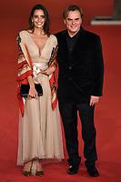 Rossana Redondo and Andrea Griminelli <br /> Pavarotti Red Carpet<br /> Roma 18/10/2019 Auditorium Parco della Musica <br /> Rome Film festival <br /> Photo Andrea Staccioli / Insidefoto