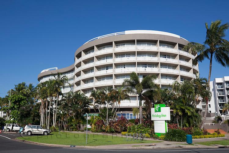 The Holiday Inn on the Esplanade.  Cairns, Queensland, Australia