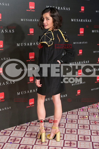 "Nadia Santiago attend the Premiere of the movie ""Musaranas"" in Madrid, Spain. December 17, 2014. (ALTERPHOTOS/Carlos Dafonte) /NortePhoto /NortePhoto.com"