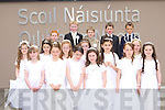 Pupils from St Oliver's NS Killarney who received their First Holy Communion in St Mary's Cathedral on Saturday front row l-r: Maureen O'Rahilly, Devon Brady, Ellie Ferris, Sinead Bradley, Shania Costello, Aoife Moynihan. Middle row: Aine Connelly, Ciara Ferris, Lorna Breen, Courtney Drumm, Kerry O'Malley, Martha Green. Back row: Ross Farrell, Darren Crowley, Kyle Farrell, Aaron O'Mahony and Cian Tangney   Copyright Kerry's Eye 2008