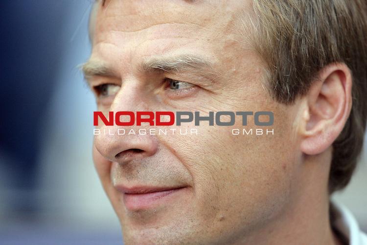 FIFA WM 2006 -  Round of Sixteen - / Viertelfinale <br /> Play    #49 (24-Jun) - Deutschland - Schweden 2:0<br /> <br /> J&uuml;rgen ( Juergen Klinsmann ) - Porrait - Halbformat quer<br /> <br /> Foto &copy; nordphoto