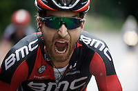 Taylor Phinney (USA/BMC) showing teeth... <br /> <br /> stage 3: Buchten - Buchten (NLD/210km)<br /> 30th Ster ZLM Toer 2016