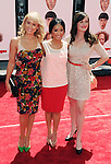 HOLLYWOOD, CA - APRIL 07: Nicki Whelan, Brenda Song and Christine Woods attend the Los Angeles premiere of 'The Three Stooges' at Grauman's Chinese Theater on April 7, 2012 in Hollywood, California.