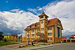 Jastarnia, 2008-06-21. Budynek Urzędu Miasta w Jastarni