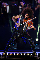 Spanish violinist Ara Malikian during the last symphonic concert of the tour at Plaza de Toros Las Ventas in Madrid. September 15, 2016. (ALTERPHOTOS/Borja B.Hojas) /NORTEPHOTO