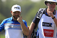 Andy Sullivan (ENG) on the 9th green during the final round of the DP World Tour Championship, Jumeirah Golf Estates, Dubai, United Arab Emirates. 18/11/2018<br /> Picture: Golffile | Fran Caffrey<br /> <br /> <br /> All photo usage must carry mandatory copyright credit (© Golffile | Fran Caffrey)