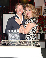 LOS ANGELES - FEB 20:  Bradley Bell, Melody Thomas Scott at the Melody Thomas Scott Celebrates 40 Years on Y&R Event at CBS Television City on February 20, 2019 in Los Angeles, CA