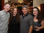 Kyle Jarrow, Kara Uterberg, Stephen Schwartz and Lauren Worsham attends the DGF Salon with Kyle Jarrow on November  1, 2018 at The Uterbetg Residence in New York City.