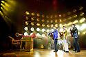 Million Dollar Quartet. Book by Colin Escott and Floyd Mutrux directed by Eric Schaeffer. With Ben Goddard as Jerry Lee Lewis,Robert Britton Lyons as Carl Perkins, Francesca Jackson as Dyanne,Michael Malarkey as Elvis Presley, Derek Hagen as Johnny Cash. Opens at The Noel Coward  Theatre on 28/2/11  CREDIT Geraint Lewis