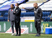 Preston North End's manager Alex Neil issues instructions to his team<br /> <br /> Photographer Andrew Kearns/CameraSport<br /> <br /> The EFL Sky Bet Championship - Preston North End v Nottingham Forest - Saturday 11th July 2020 - Deepdale Stadium - Preston <br /> <br /> World Copyright © 2020 CameraSport. All rights reserved. 43 Linden Ave. Countesthorpe. Leicester. England. LE8 5PG - Tel: +44 (0) 116 277 4147 - admin@camerasport.com - www.camerasport.com