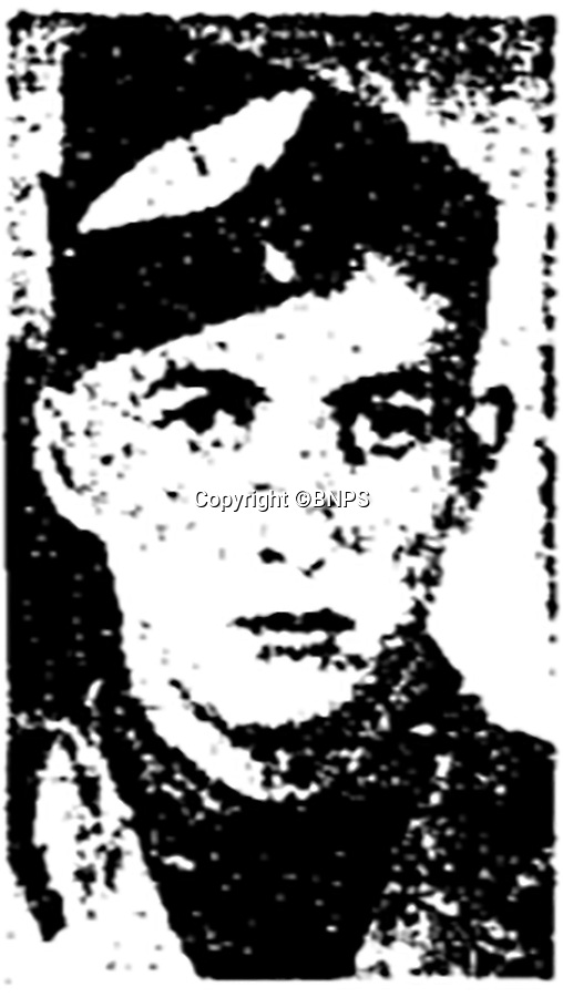BNPS.co.uk (01202 558833)<br /> Pic: BNPS<br /> <br /> Sergeant Albert Stilin, of 257 Squadron, was killed aged 21 when he crashed his Hurricane into this pub's roof on September 30, 1942.<br /> <br /> Sections of a torn-down pub ceiling which are covered in 250 signatures from World War Two heroes have been salvaged and turned into a memorial.<br /> <br /> The merry airmen left their mark during raucous evenings at the George and Dragon in the village of Clyst St George in Devon.<br /> <br /> Many of the brave men who signed or drew on the wood ceiling perished in the war in the skies with the Luftwaffe.<br /> <br /> One of them, Sergeant Albert Stilin, of 257 Squadron, was killed aged 21 when he crashed his Hurricane into this pub's roof on September 30, 1942. Another airman later put the initials 'RIP' put after his name.<br /> <br /> The ceiling was taken down in 1975 and half of it was destroyed. <br /> <br /> Robin and Suzannah Holwell recovered the surviving planks from a RAFA association store room in 2009 and have carried out a decade-long preservation project, putting the sections in frames and researching the men behind signatures.