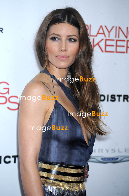 "Jessica Biel at the premiere of ""Playing for Keeps"", in New York City..New York, December 5, 2012..."