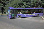 Park and Ride bus, Martlesham, Ipswich, Suffolk, England