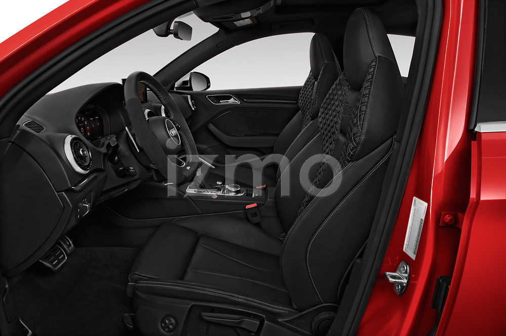 Front seat view of 2018 Audi RS-3 4WD 4 Door Sedan Front Seat  car photos