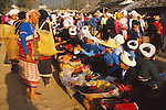 China, a market in Xishuangbanna Dai Autonomous Prefecture, Yunnan Province