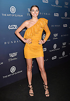 LOS ANGELES, CA - JANUARY 05: Jessica Hart attend Michael Muller's HEAVEN, presented by The Art of Elysium at a private venue on January 5, 2019 in Los Angeles, California.<br /> CAP/ROT/TM<br /> &copy;TM/ROT/Capital Pictures