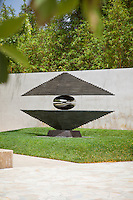 The Mirage Sculpture at the Cerritos Sculpture Gardens