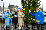 "Remember Your Loved Ones : Pictured at ""The Remembrance Tree"" where  you tie a yellow ribbon to remember your loved one on the tree which is in front of St John's Arts centre in the Square in Listowel were Teresa Hannon, Mycheala &  Elanine Lyons & Jenny Tarrant."