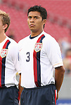 15 March 2008: Michael Orozco (USA). The United States U-23 Men's National Team defeated the Honduras U-23 Men's National Team 1-0 at Raymond James Stadium in Tampa, FL in a Group A game during the 2008 CONCACAF's Men's Olympic Qualifying Tournament.