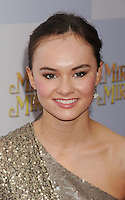 HOLLYWOOD, CA - MARCH 17: Madeline Carroll arrives at the 'Mirror Mirror' Los Angeles Premiere at Grauman's Chinese Theatre on March 17, 2012 in Hollywood, California.