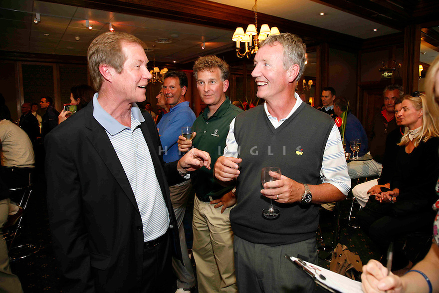 The Auction in the Ballroom for ' OLE SEVE ! ' Pro-Am in aid of the Seve Ballesteros Foundation at Wentworth Club on May 23, 2011 in Virginia Water, England. Photo Credit / Phil Inglis.....