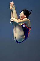 Eunbi Cho KOR <br /> Gwangju South Korea 18/07/2019<br /> Women's 3m Springboard  Preliminary <br /> 18th FINA World Aquatics Championships<br /> Nambu University Aquatics Center  <br /> Photo © Andrea Staccioli / Deepbluemedia / Insidefoto
