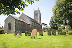 Parish church of All Saints, Laxfield, Suffolk, England, UK