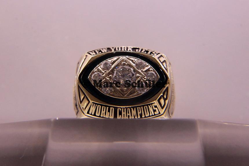 Super Bowl Ringe der einzelnen Siegerteams: III New York Jets - 1968