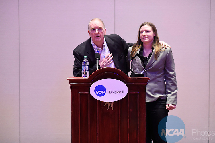 15 JAN 2015:  The NCAA Division II 10 Years of FAR Institute Reception takes place during the 2015 NCAA Convention held at the Gaylord National Resort and Convention Center in National Harbor, MD.  Jamie Schwaberow/NCAA Photos