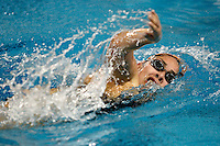 SAN ANTONIO, TX - FEBRUARY 19, 2009: The University of Texas of the Permian Basin Falcons compete during Day 1 of the Rocky Mountain Athletic Conference Swimming & Diving Championships held at the Josh Davis Natatorium. (Photo by Jeff Huehn)