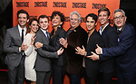 Michael Urie, Roxanna Hope Radja, Jack DiFalco, Mercedes Ruehl, Harvey Fierstein, Michael Rosen, Ward Horton and Moises Kaufman attends the Off-Broadway Opening Night After Party for the Second Stage Production on 'Torch Song' on October 19, 2017 at Copacabana in New York City.