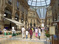 Italien, Lombardei, Mailand: Galleria Vittorio Emanuele | Italy, Milan: Vittorio Emanuele Arcade