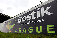 General view of the Bostik League signage during Heybridge Swifts vs Carshalton Athletic, FA Trophy Football at The Aspen Waite Arena on 7th October 2017