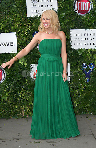 Kylie Minogue at Charity ball in aid of One For The Boys, a charity raising awareness of male forms of cancer, encouraging men to get checked regularly. Evening celebrates the launch of the 2016 campaign film The Difference, at Victoria and Albert Museum, London, England June 12, 2016.<br /> CAP/JOR<br /> &copy;JOR/Capital Pictures /MediaPunch ***NORTH AND SOUTH AMERICAS ONLY***