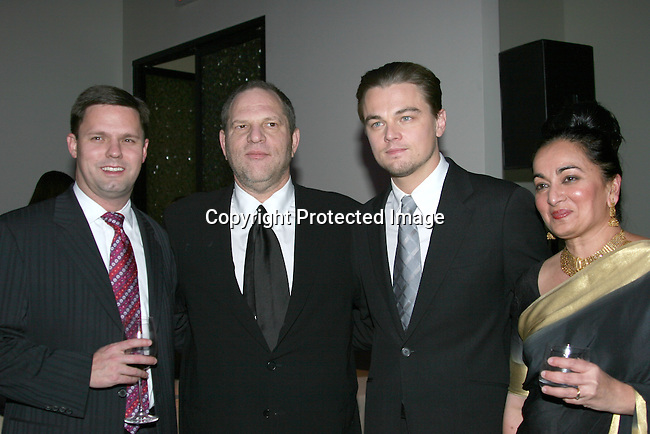 Harvey Weinstein &amp; Leonardo DiCaprio<br />