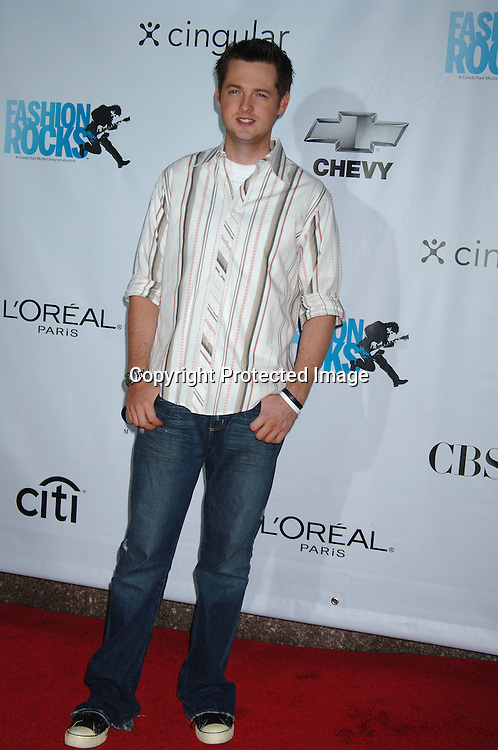 Damian Fahey..arriving at The Conde Nast Media Group's Third Annual Live Fashion Rocks Concert at Radio City Music Hall on September 7, 2006. ..Robin Platzer, Twin Images