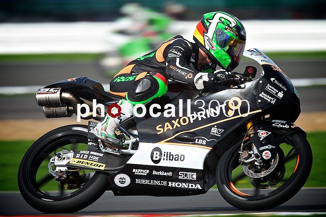 hertz british grand prix during the world championship 2014.<br /> Silverstone, england<br /> August 28, 2014. <br /> FP Moto3<br /> efren vazquez<br /> PHOTOCALL3000/ RME