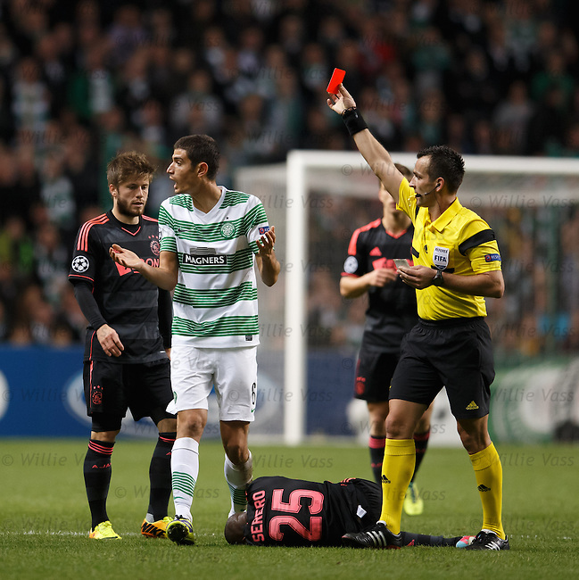 Nir Biton sent off