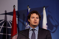 Louis Morisset,<br /> President and Chief Executive Officer, Autorite des marches financiers (AMF) <br /> attend the International Economic Forum of the Americas 20th Edition, from June 9-12, 2014 <br /> <br />  Photo : Agence Quebec Presse - Pierre Roussel