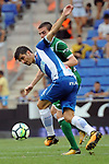 League Santander 2017-2018 - Game: 2<br /> RCD Espanyol vs CD Leganes: 0-1.<br /> Gerard Moreno vs Javier Eraso.
