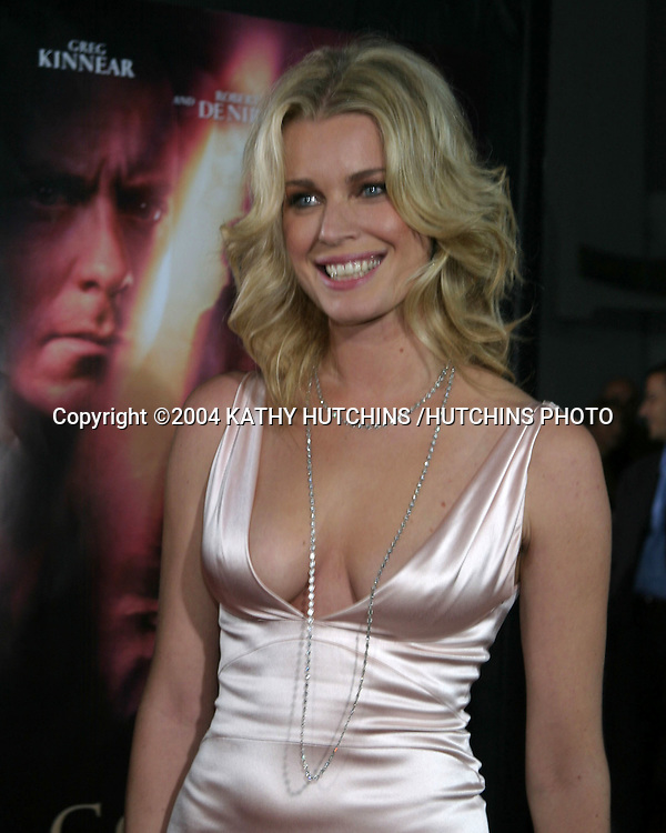 """©2004 KATHY HUTCHINS /HUTCHINS PHOTO.PREMIERE OF """"GODSEND"""".GRAUMAN'S CHINESE THEATER.LOS ANGELES, CA.APRIL 22, 2004..REBECCA ROMIJN-STAMOS."""