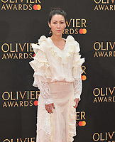 Eleanor Matsuura at the Olivier Awards 2019, Royal Albert Hall, Kensington Gore, London, England, UK, on Sunday 07th April 2019.<br /> CAP/CAN<br /> ©CAN/Capital Pictures