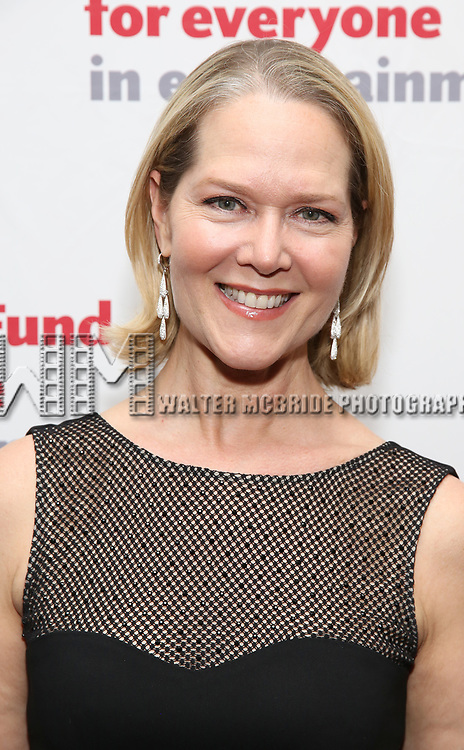 Rebecca Luker attends The Actors Fund Annual Gala at the Marriott Marquis on 5/8//2017 in New York City.