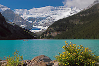 Leisure activity at Lake Louise in Banff National Park, Alberta Canada